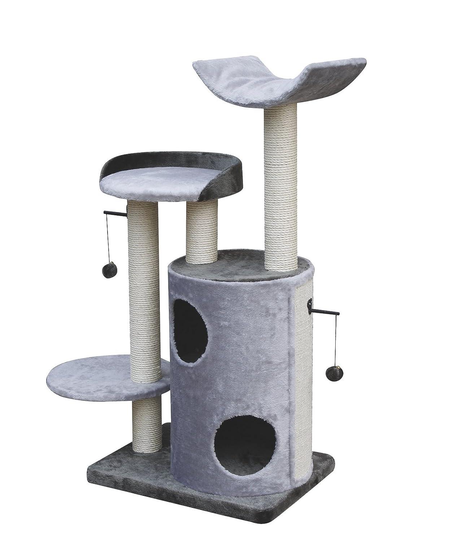 Nobby 63047-53 Kratzbaum für Katzen JIMETA, grau-anthrazit (grey-anthrazit)
