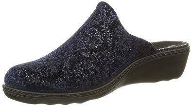 Romika Damen Romilastic 398 Pantoletten, Blau (Blau 403), 41 EU