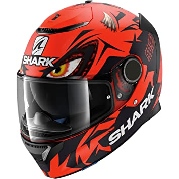 Shark Spartan Lorenzo - Casco de Moto austríaco GP réplica: Amazon.es: Coche y moto