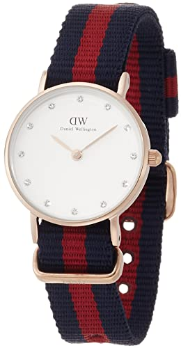 6c3ef50e34b7 Daniel Wellington Womens Analogue Quartz Watch with Nylon Strap 0905DW   Amazon.co.uk  Watches
