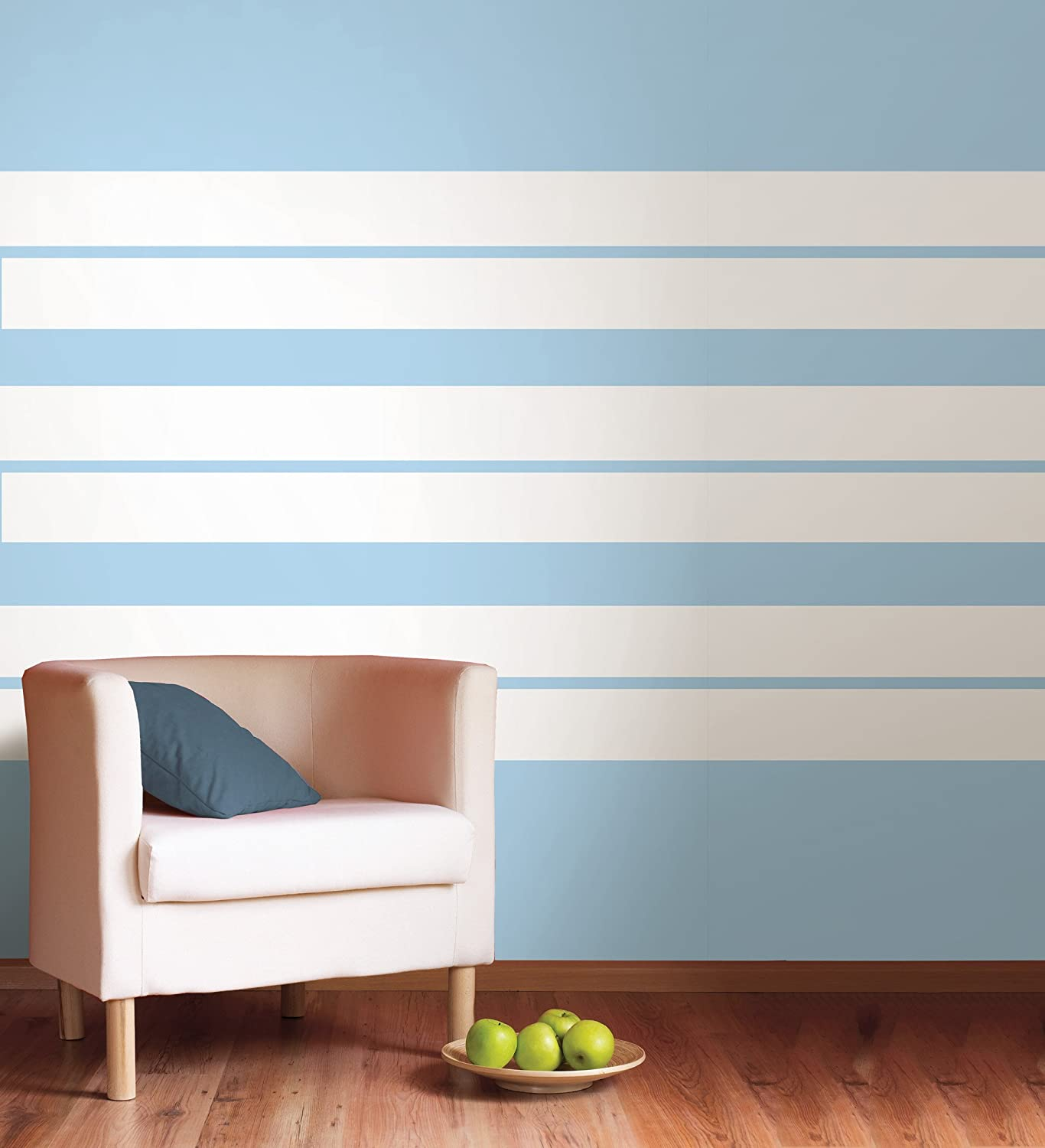 Brewster WPS90205 Wall Pops Ghost Stripe, Single Strip   Decorative Wall  Appliques   Amazon.com
