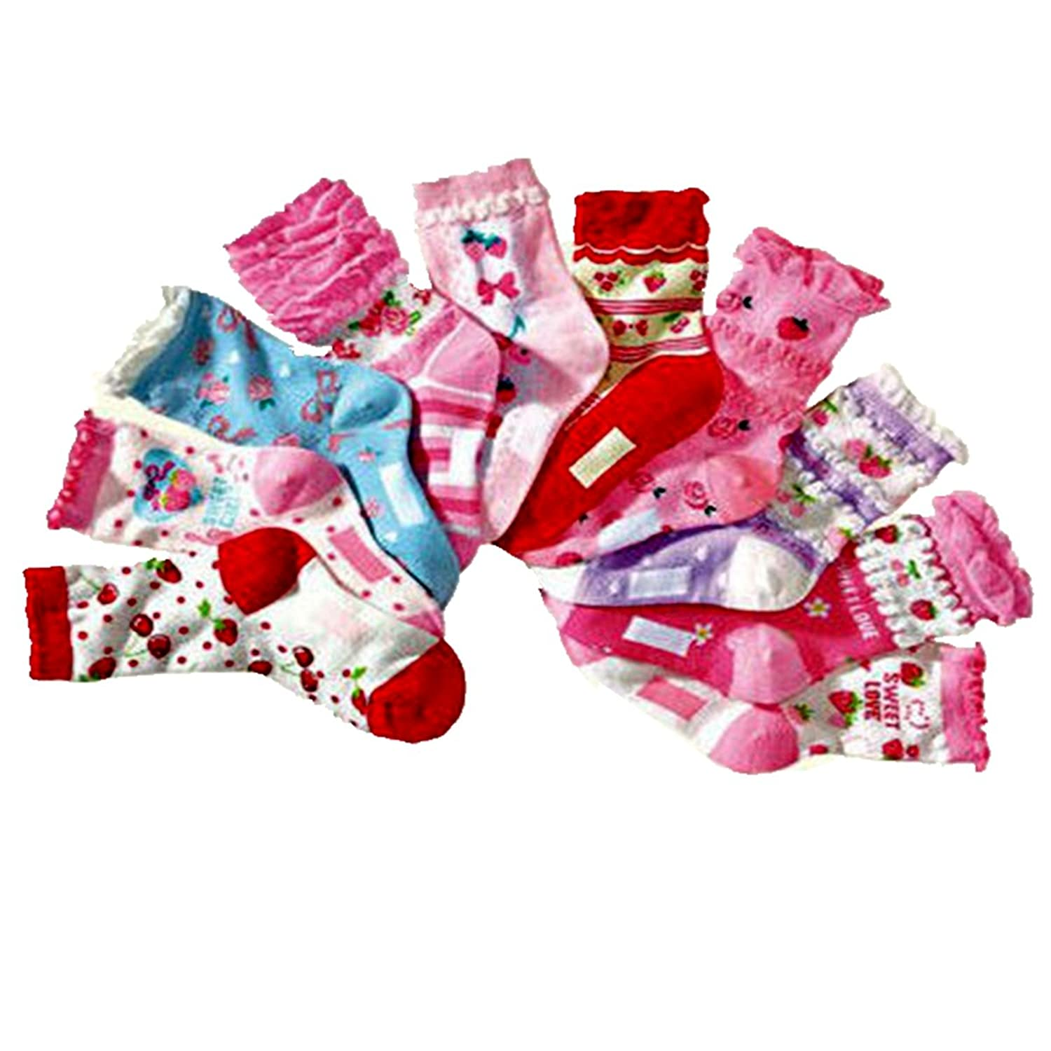 Indistar Girls Super Soft and Stylish Cotton Printed Churidar Legging Pants Pack of 2