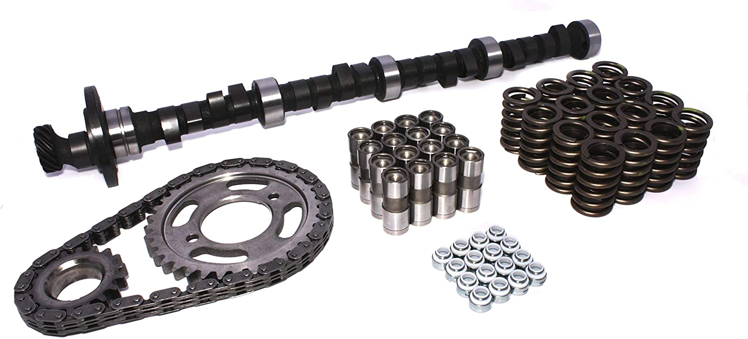 430 455 COMP Cams CL96-200-4 High Energy 206//206 Hydraulic Flat Cam and Lifter Kit for Buick 400