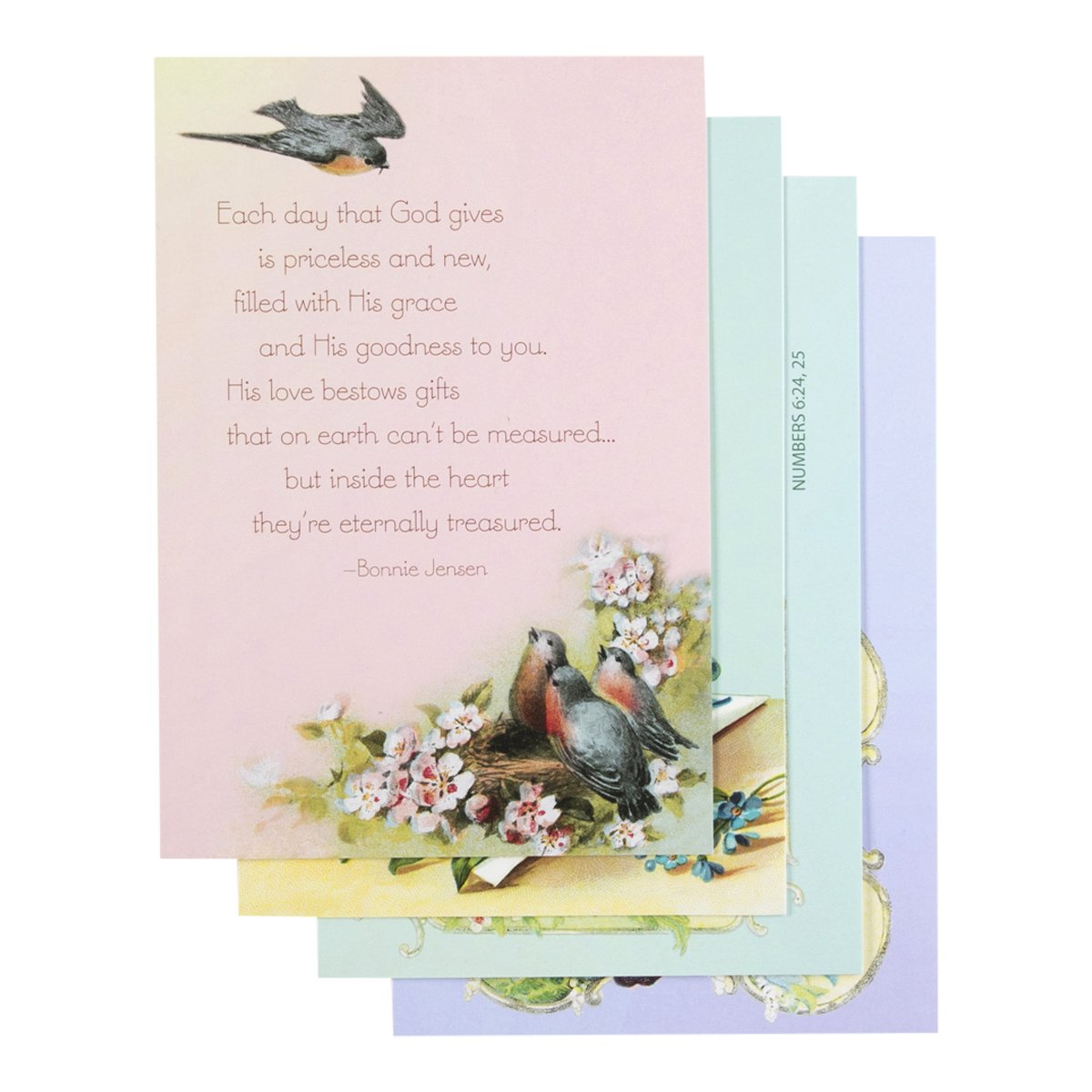 Amazon Birthday Inspirational Boxed Cards Victorian