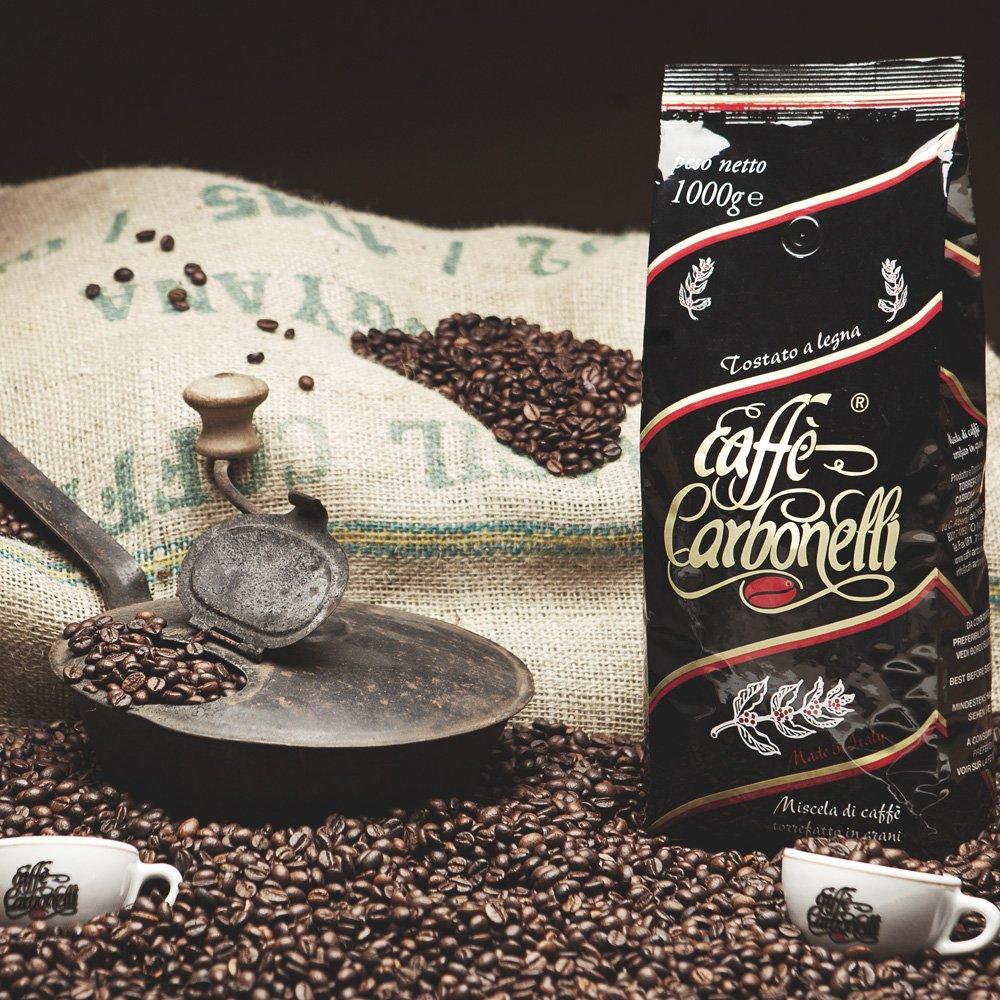 1kg de granos de café 100% Arabica tostados en madera: Amazon.es: Alimentación y bebidas