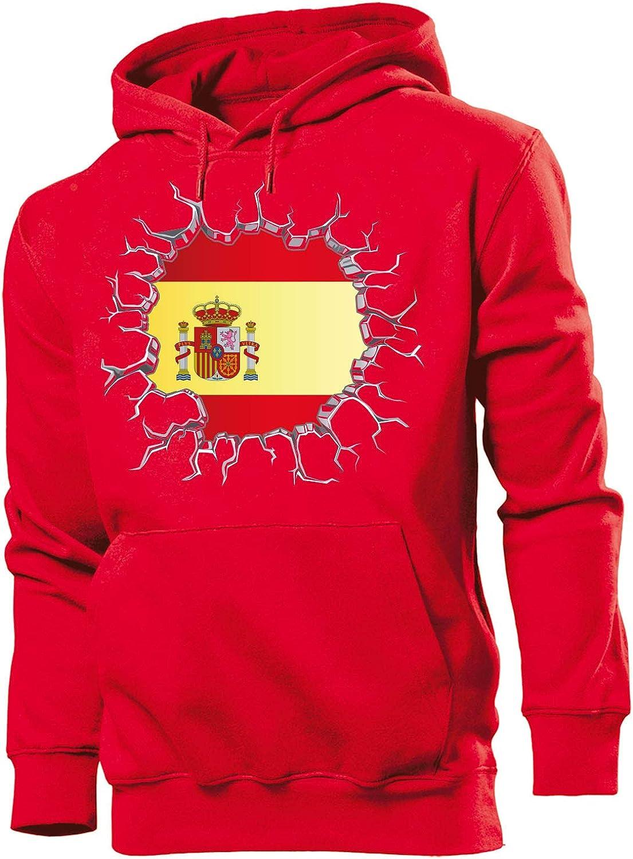 Spanien Espania Spain Motive Fanartikel Fussball Shirt Hoodie Kapuzen Pullover Tasse Becher Kinder Damen Frauen M/änner Herren Kids