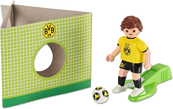 Borussia Dortmund BVB Playmobil - Figura decorativa, talla única: Amazon.es: Juguetes y juegos