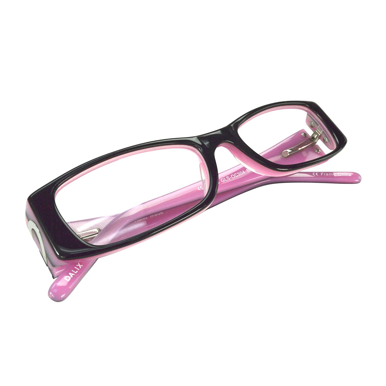 a6360a25e8f2 Amazon.com  Childrens Cute Heart Prescription Eye Glasses Frames in Black   Clothing