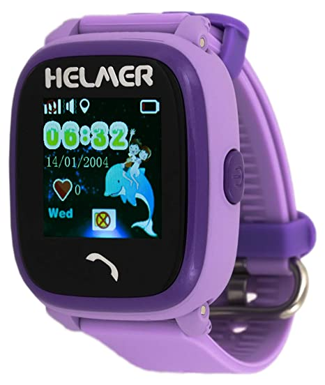 HELMER lk704 Niños de Smartwatch con GPS Rastreador y ...