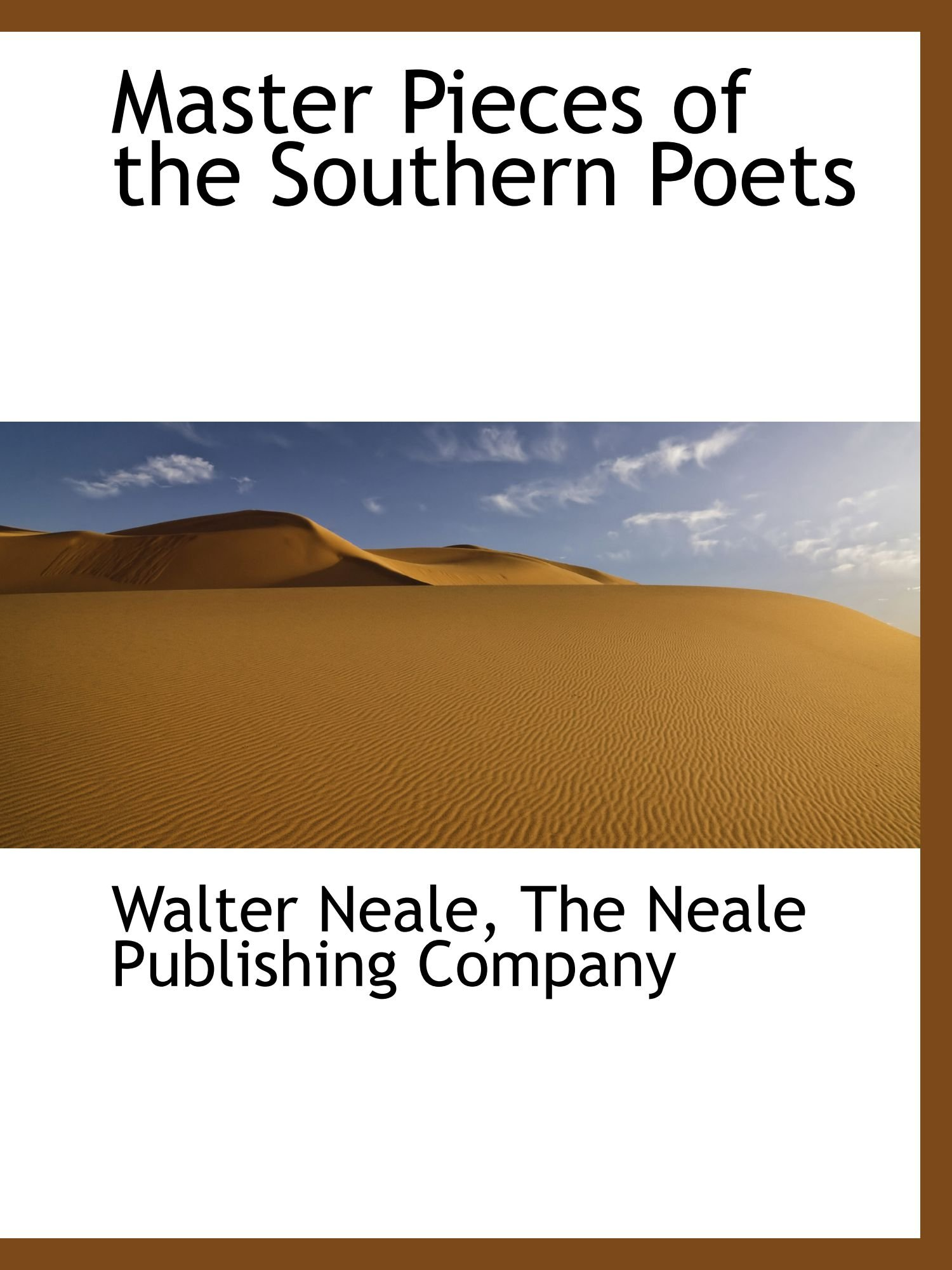 Download Master Pieces of the Southern Poets ebook