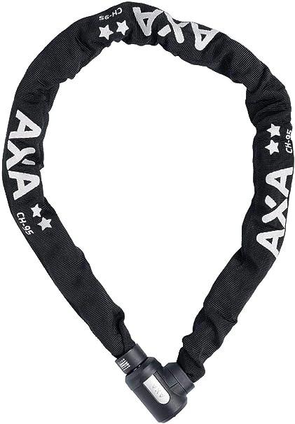 AXA 5011541 Chaine Antivol Mixte Adulte Noir