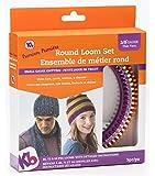 "Authentic Knitting Board 'Premium' Round Loom Set 3/8"" Gauge"