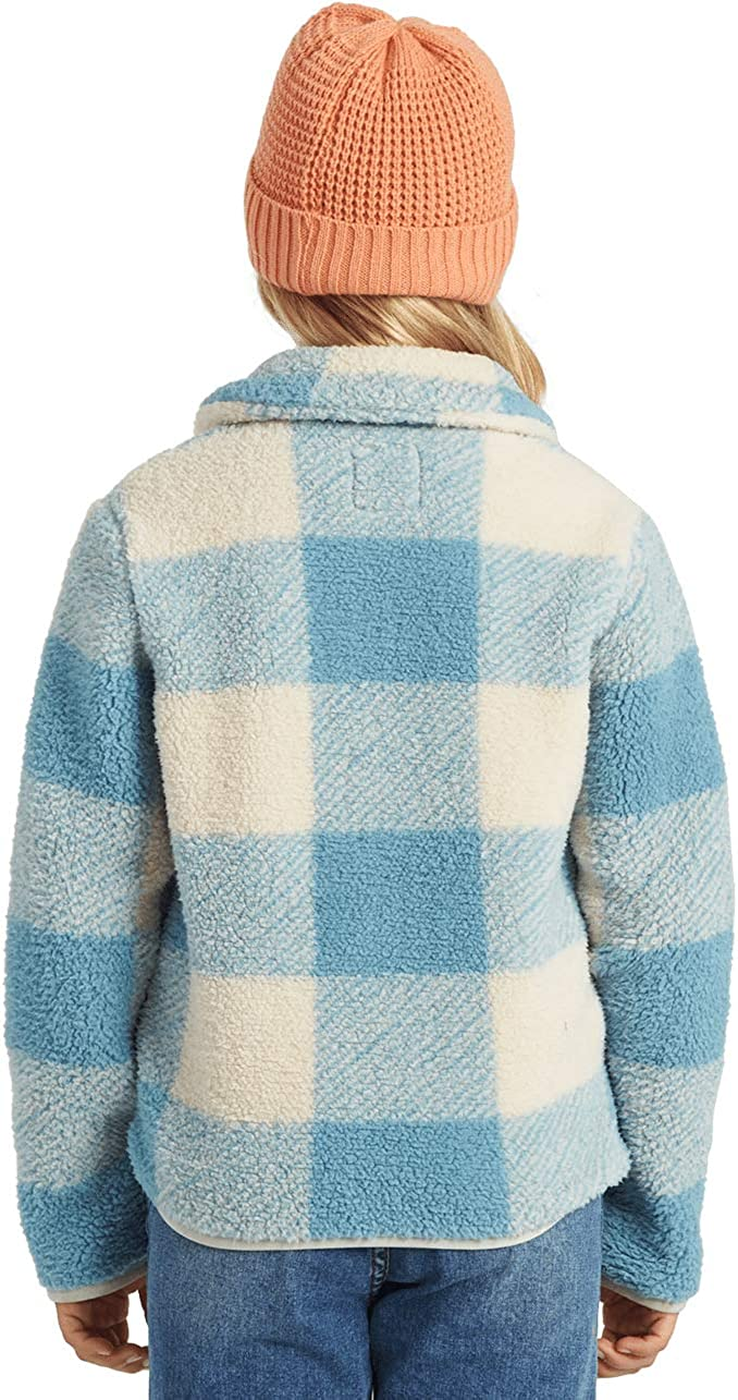 Billabong Girls Warm and Cozy Zip Fleece Jacket