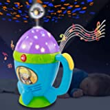 HISTOYE Night Light Stars Projector Flashlights Toys for Kids Flashlights for Toddlers 2-4 Years Space Projector for Kids wit