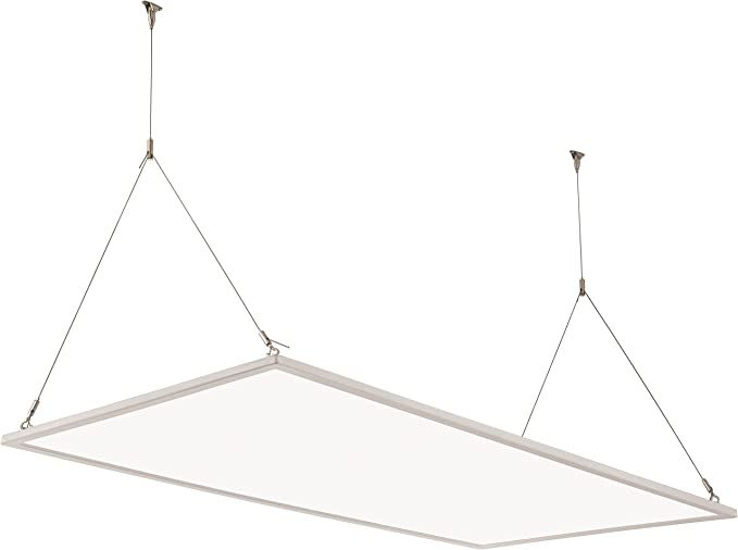Lithonia Lighting EPANL 24 40L 40K Edge Lit Flat LED Panel, 2-Foot by 4-Foot, 4000K