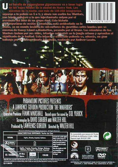 The warriors. Los amos de la noche (Paramount) [DVD]: Amazon.es ...