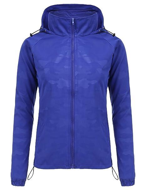 Amazon.com: FISOUL - Chaqueta impermeable con capucha para ...