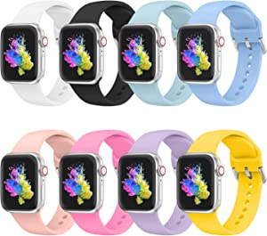 Bands Compatible with Apple Watch Bands 38mm 40mm for Women Girl Teenager, Bracelet Strap for Apple iWatch Series 6 5 4 3 2 1- Small Size