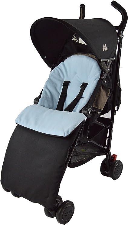 Fleece Footmuff Compatible with Joie Stroller Buggy Pram Grey Star