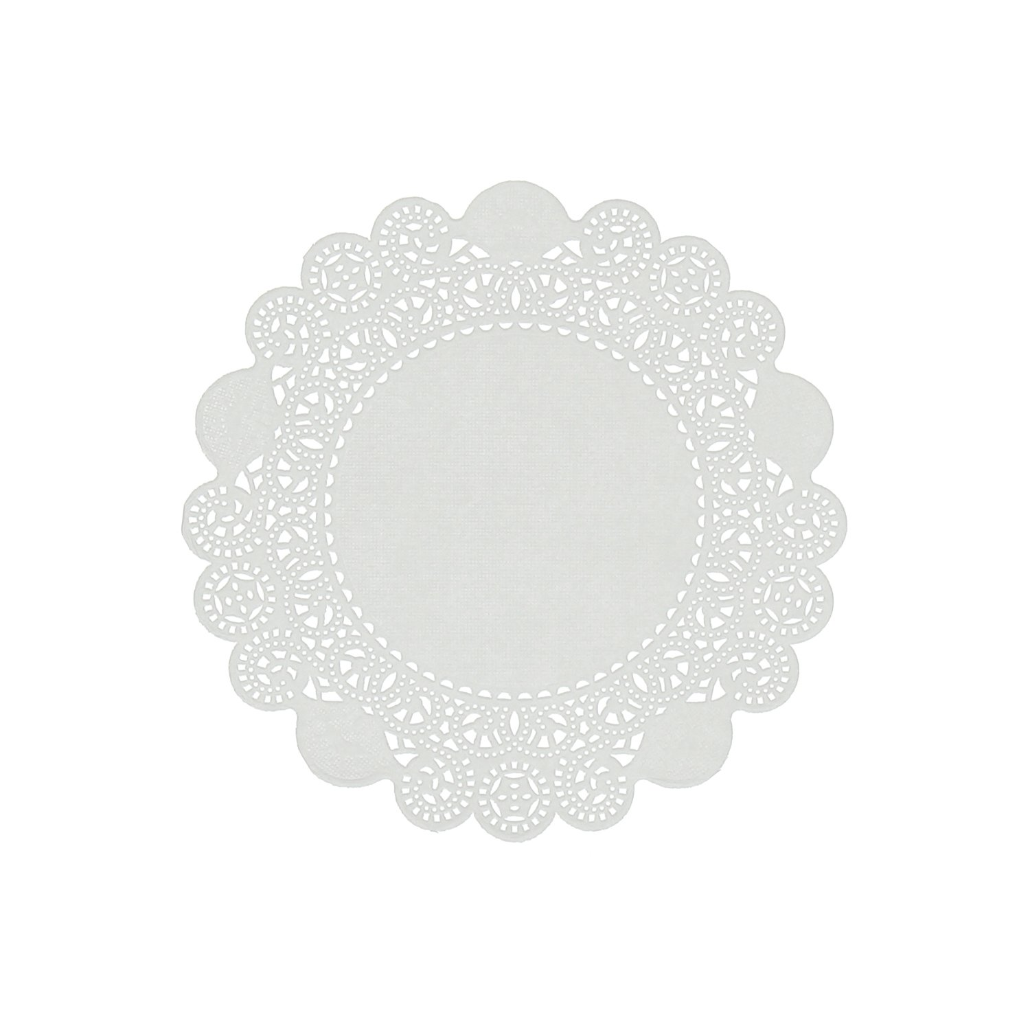Royal 6'' Disposable Paper Lace Doilies, Package 1000