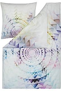Estella Impulse Mako Satin Bettwasche In Wendeoptik 4 Tlg Paint