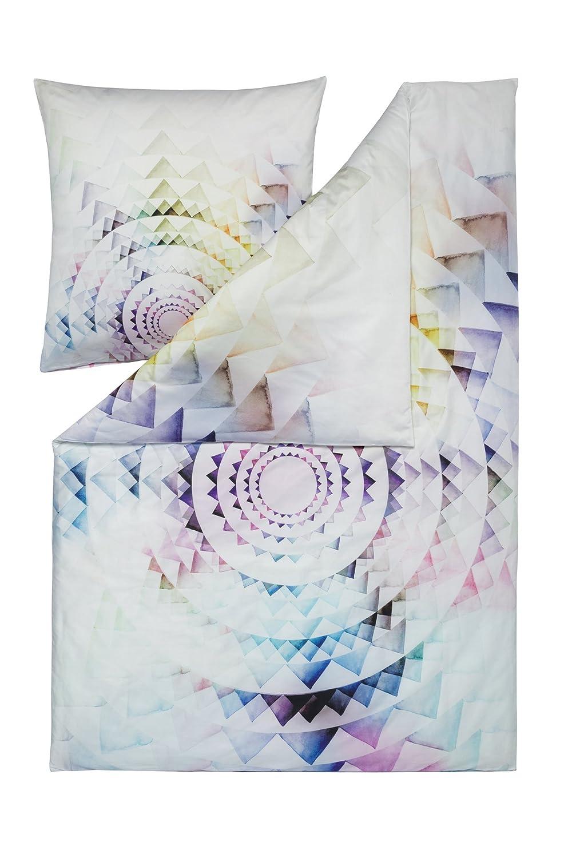 Estella Mako Satin Bettwäsche 4 tlg. Impulse Circle 2 x 135x200 + 2 x 80x80 cm