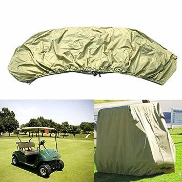 ShepoIseven - Funda Impermeable con Cremallera para Carrito de Golf EZ Go Club Car: Amazon.es: Hogar
