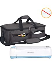 Luxja Carrying Bag Compatible with Cricut Explore Air and Maker, Tote Bag Compatible with Cricut Explore Air and Supplies (Bag Only), Black