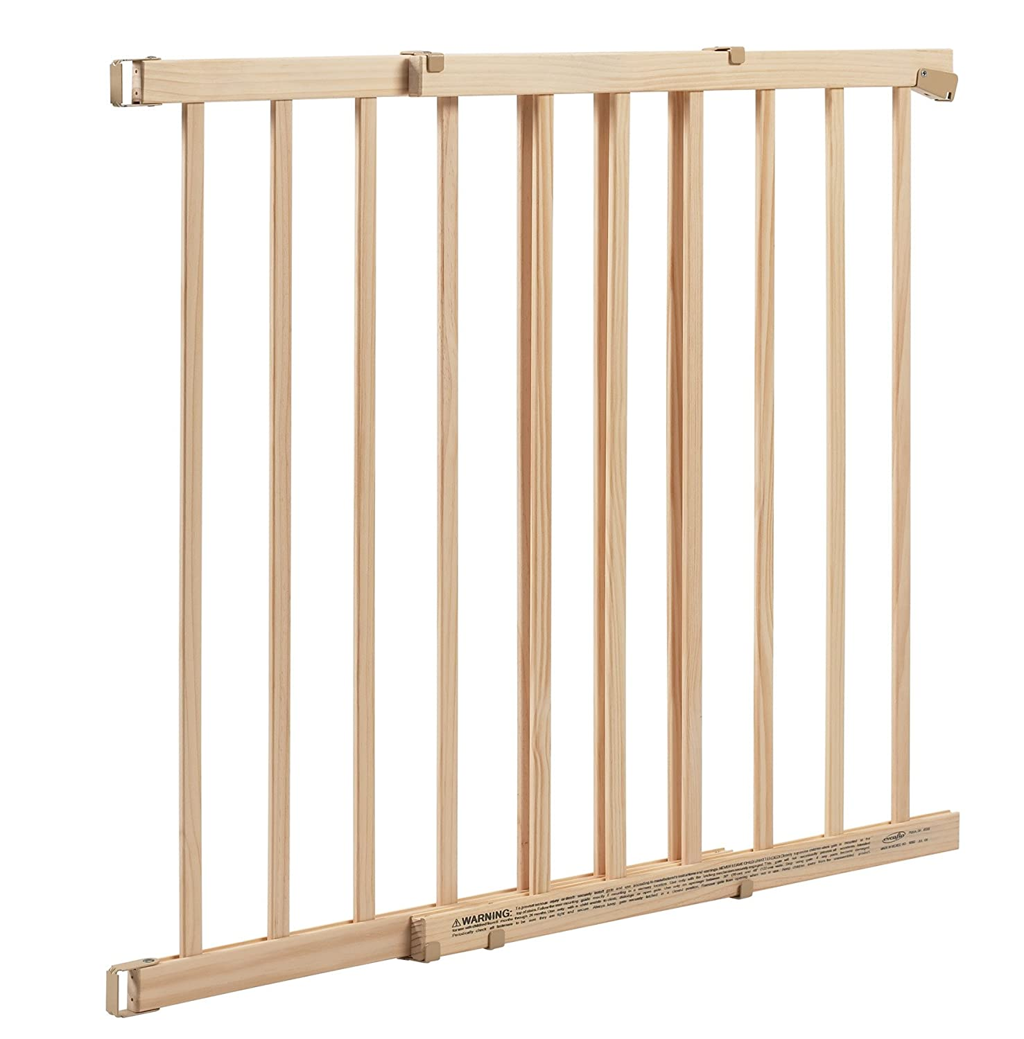 Amazon.com : Evenflo Top Of Stair Gate, Wood, Xtra Tall : Indoor Safety  Gates : Baby