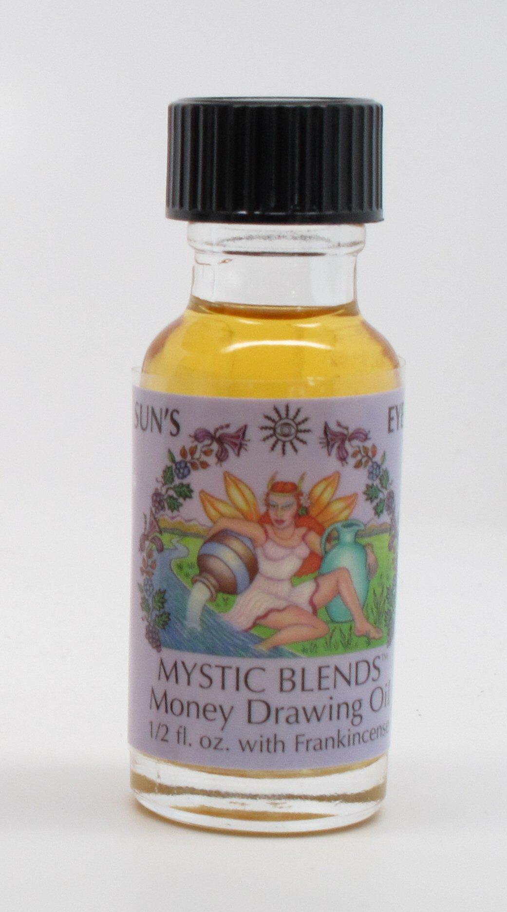 Money Drawing - Sun's Eye Mystic Blends Oils - 1/2 Ounce Bottle