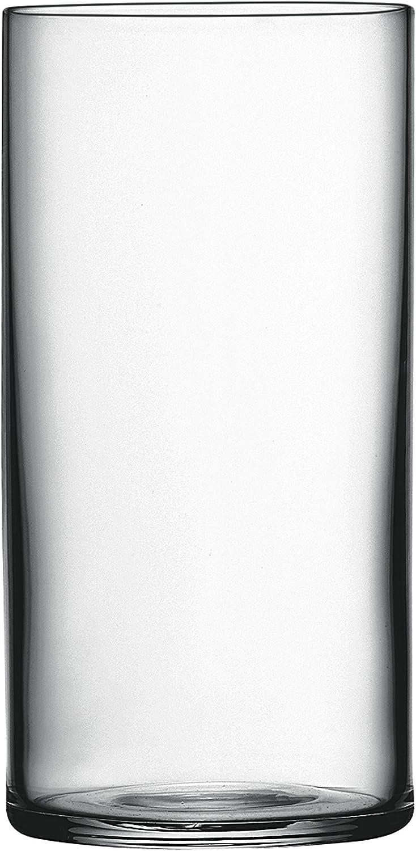Luigi Bormioli Top Class 12.25 oz Beverage Glasses, Set of 6, Clear