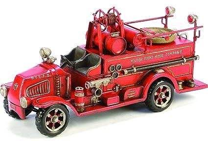 Amazon.com: Berkeley Milton Point Fire Engine Sculpture ...