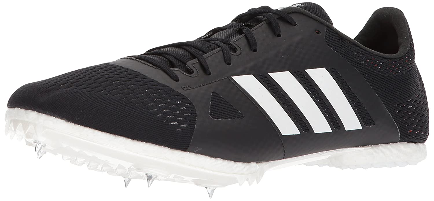 adidas Adizero Md Running Shoe B071GSFBZC 5.5 M US|Core Black, Ftwr White, Hi-res Orange S