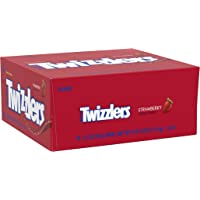 18- Count Twizzlers Strawberry Flavored Chewy Candy Twists 2.5 Oz Bulk Bags