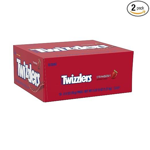 Twizzlers Strawberry Twists (2.5 oz packs, 18 ct. )