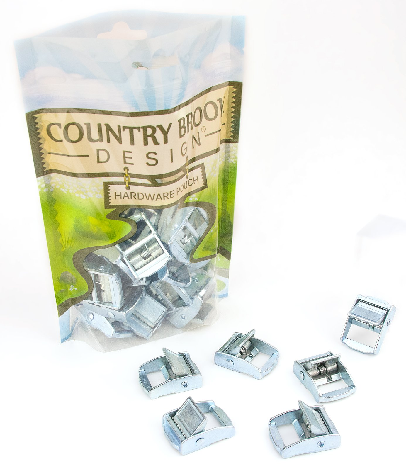 50 - Country Brook Design 3/4 Inch Press Cam Buckles by Country Brook Design