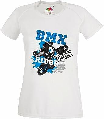 T-Shirt Camiseta Remera BMX Bicicleta Bicicleta piloto de ...