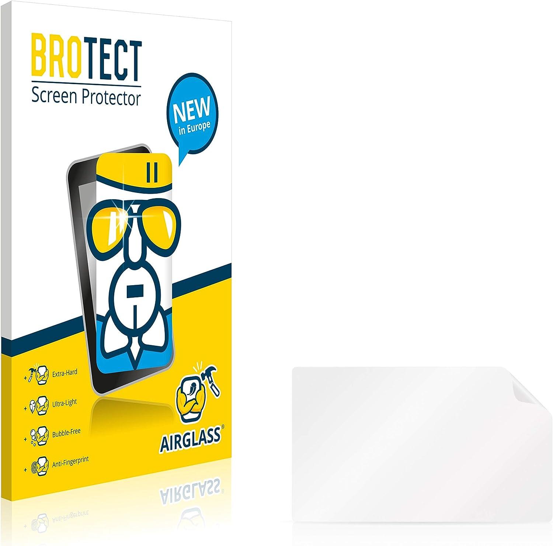 brotect Protector Pantalla Cristal Compatible con Coyote Nav 2014 Protector Pantalla Vidrio Dureza 9H AirGlass