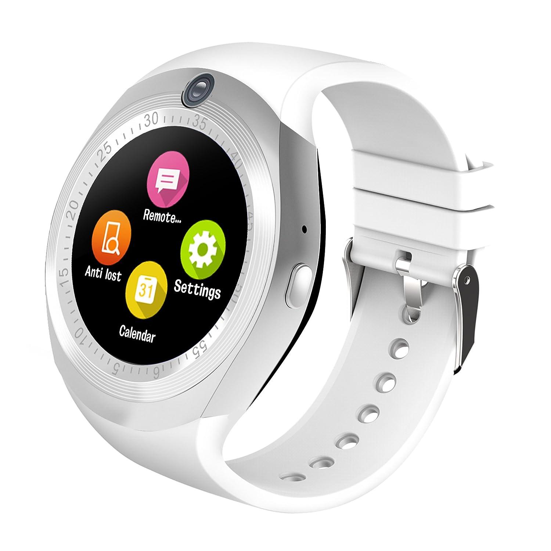 ZEERKEER Smartwatch Bluetooth con Podómetro Monitorización ...