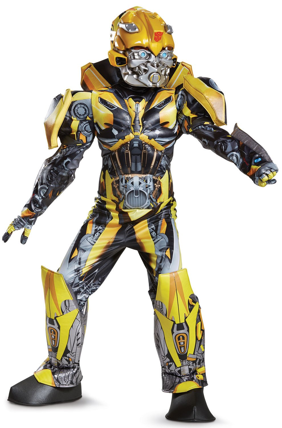 Disguise Bumblebee Movie Prestige Costume, Yellow, Small (4-6) by Disguise (Image #1)