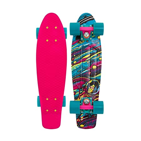 Penny Weird Reality Complete Skateboard, Sea Space, 22 L