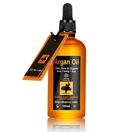 Aceite de Argán puro 100ml. 100% puro y certificado