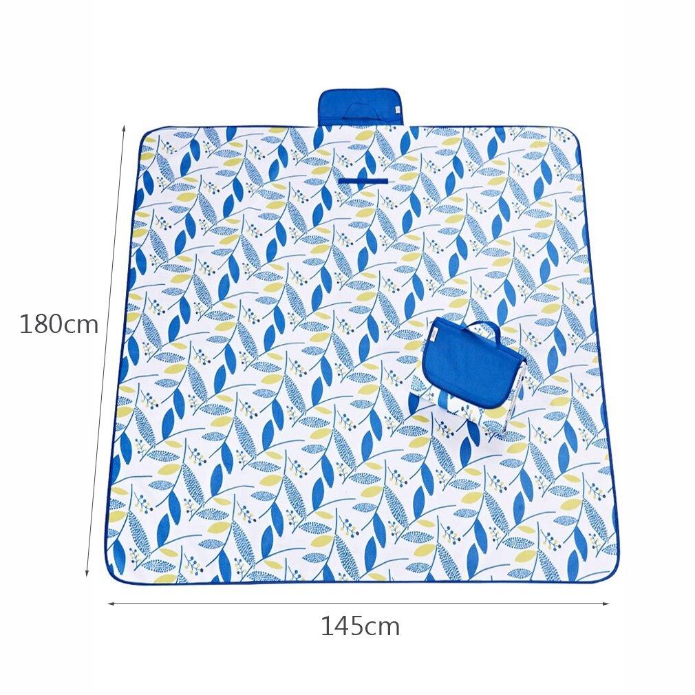 Manta de Picnic Humedad al Aire de Libre a Prueba de Aire Agua Atrás Oxford Tela Plegable Camping portátil de Viaje Escalada Mats 180 X 145 cm d16732