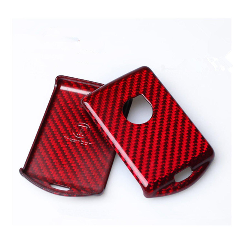 100/% Carbon Fiber Case For Volvo Key Fob Genuine Carbon Fiber Cover For Volvo XC60 2018 Smart Fob Remote Key Black M.JVisun New Hot Car Key Fob Case Protector For Men Fob Cover Skin For Women