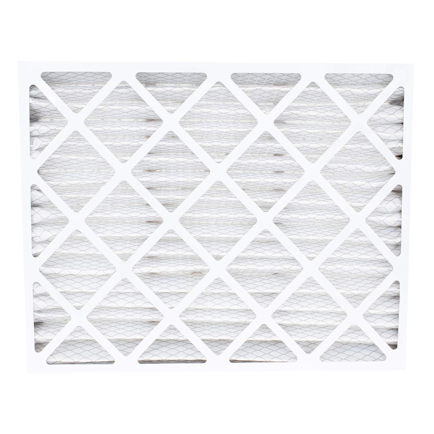 Pack of 1. FilterBuy 16x20x5 AC Furnace Air Filters Compatible with Honeywell FC100A1003 AFB Silver MERV 8