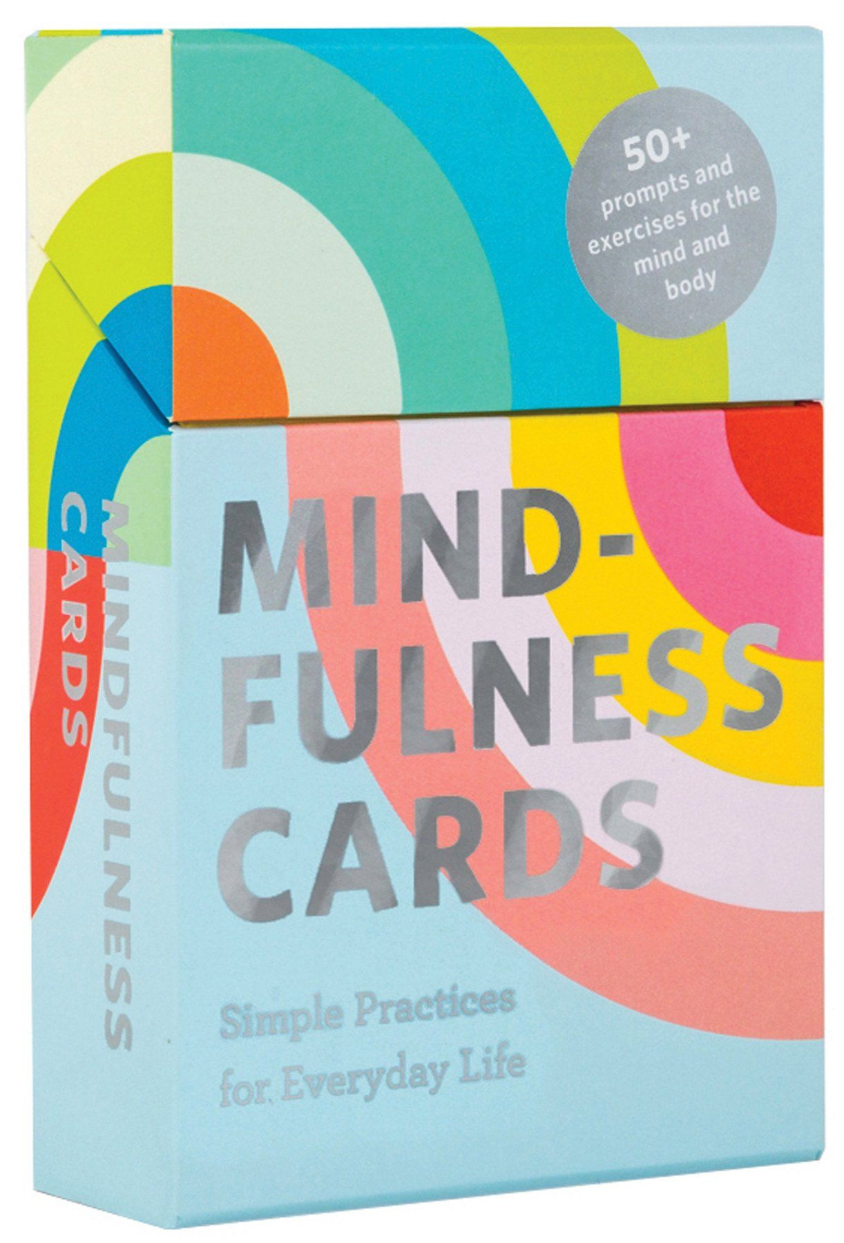 Mindfulness cards for self care and wellness.
