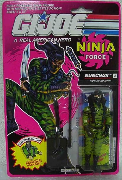 GI Joe Ninja Force Nunchuk by G. I. Joe: Amazon.es: Juguetes ...