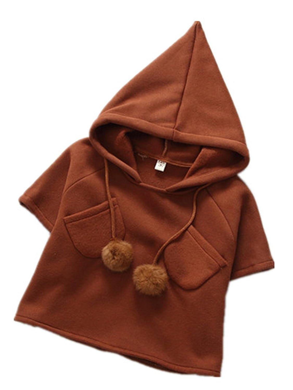 763ff0fdd7d7 David Nadeau Autumn Hot Sale Girls Coat Fleece Hooded Cape Kids ...