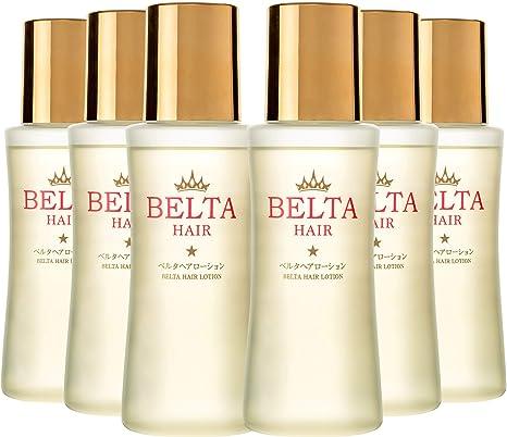 Amazon | 育毛剤 女性用 薬用 BELTA ヘアローション(6本セット) 抜け毛予防 薄毛対策 ヘア オイル 【医薬部外品】 | BELTA  | 増毛・ボリュームアップスプレー 通販