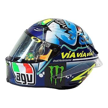 Casco AGV Ltd misno-shark grande (Valentino Rossi)